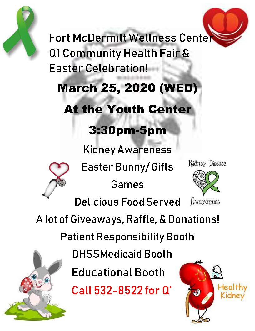 Q1 Health Fair by FMWC